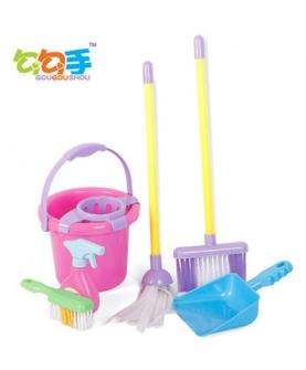 过家家玩具 清洁打扫工具套装