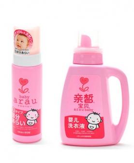 寶寶衣物護理洗衣液組合裝