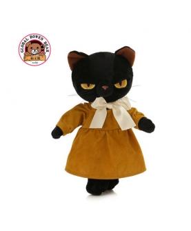 黑猫毛绒玩具创意公仔