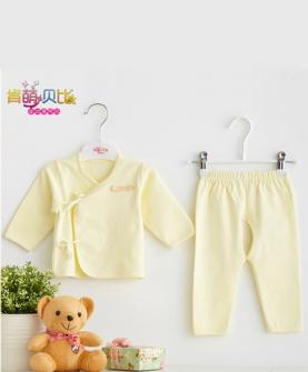 新生儿纯棉和尚服