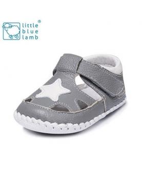 牛皮软底夏款婴儿凉鞋