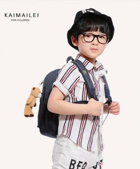 儿童夏季纯棉衬衫