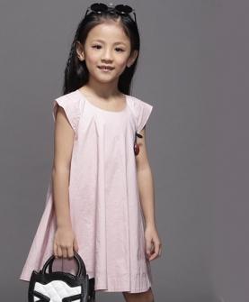 女童连衣裙(粉色)