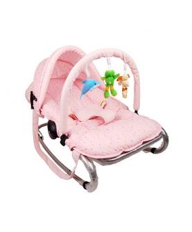 带遮阳棚婴儿摇椅