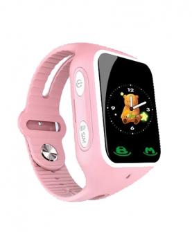 芭米小V升级版儿童智能手表(粉红色)