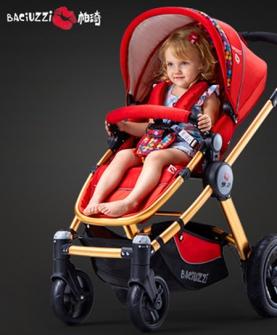 高景观可躺可坐婴儿车