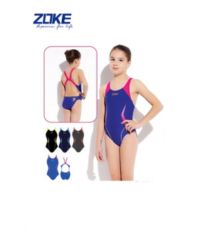 女童游泳衣(深蓝色)