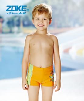 男童游泳短裤(黄色)