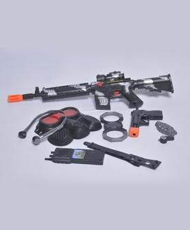 迷彩闪光仿真枪玩具枪