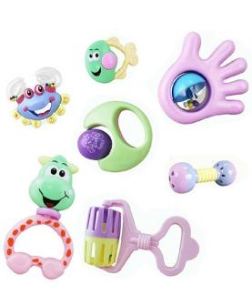 新生儿益智婴儿玩具摇铃