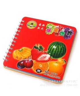 水果世界宝宝益智认知书