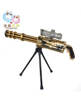 土豪金电动连发仿真玩具枪
