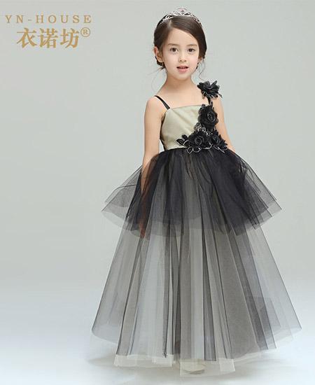 儿童公主礼服裙