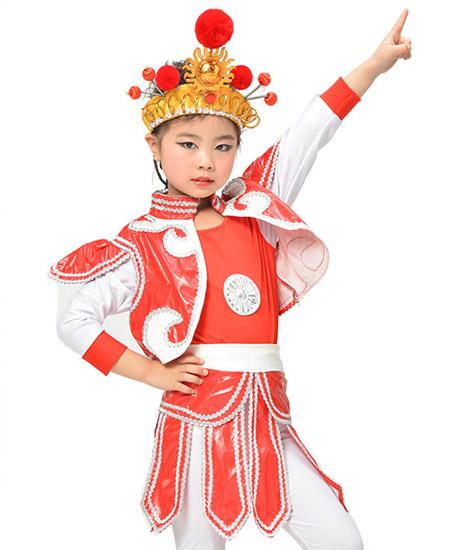 儿童花木兰表演服