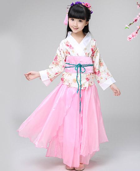 儿童古装小七仙女公主裙