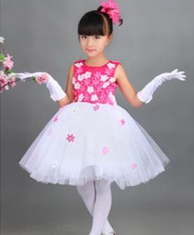 儿童演出服公主裙