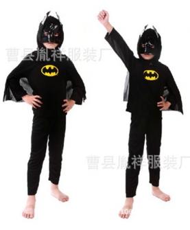 儿童服蝙蝠侠摄影服
