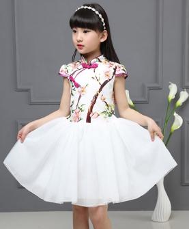 小女孩演出表演服