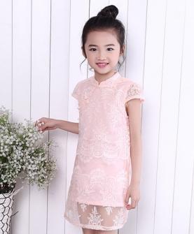 夏季女童旗袍