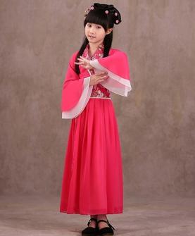 儿童摄影服装(红色)
