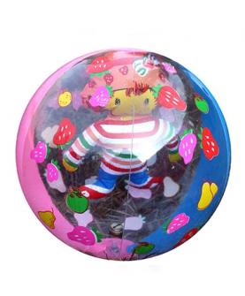 pvc充气玩具球