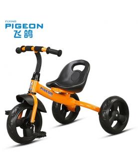 儿童三轮充气脚踏车