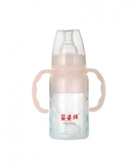 硅胶标口双耳自动奶瓶