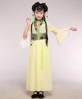 儿童摄影服(黄色)