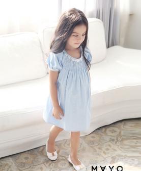 夏款女童连衣裙