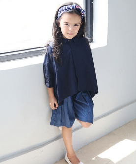 夏款女童套装