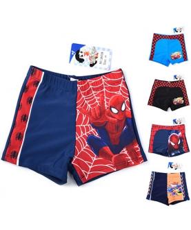 新款蜘蛛侠儿童卡通游泳裤