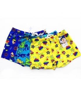 男童泳裤游