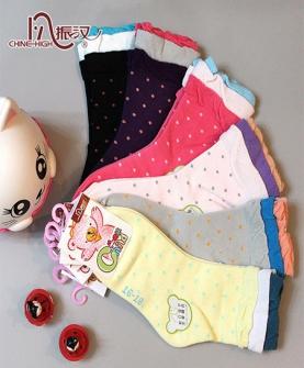 小女孩纯棉袜