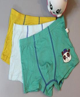 小熊猫 冰丝+精梳棉童裤