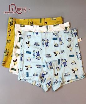 男童新款小猴平角内裤