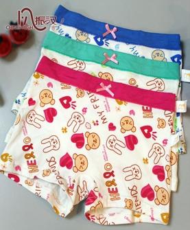 中小童爱心女童裤