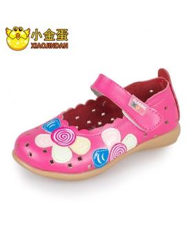 牛皮女童皮鞋