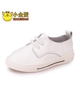 牛皮大童板鞋