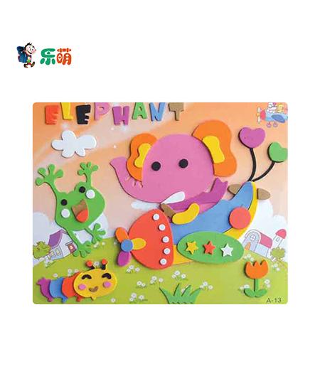 婴幼儿儿童立体贴画手工制作粘贴画,产品编号44625