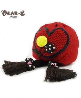 宝宝针织帽