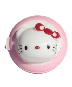 欢乐猫夜灯粉色