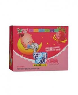 无蔗糖草莓口味果条