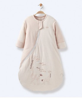 彩棉长颈鹿睡袋
