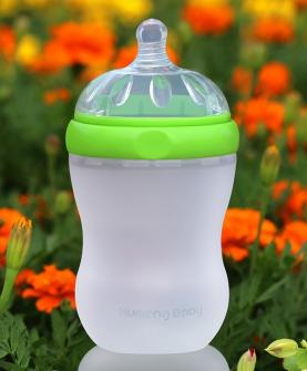 防乳实感硅胶奶瓶230ml
