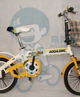 学生折叠自行车