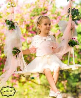 女童休闲公主裙