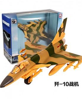 歼10合金战机模型