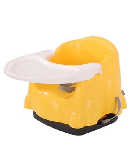 集得便携式餐椅黄