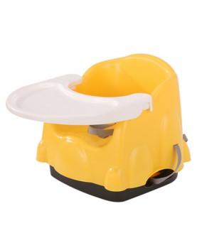 便携式餐椅黄
