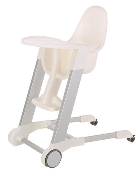 集得可移动餐椅白